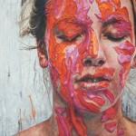 Ennhh Fuchsia and Orange Paint